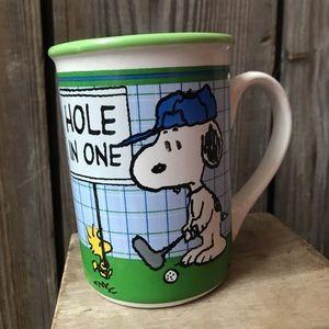 Peanuts Snoopy Hole in One Mug